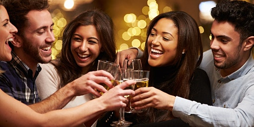 Mingle with new friends - (21-40) Over 30 expected/DJ/Happy hrs/£5 to £10