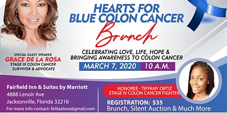 Hearts for Blue Colon Cancer Brunch tickets