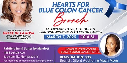 Hearts for Blue Colon Cancer Brunch