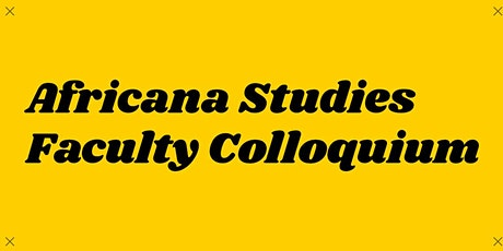 Faculty Colloquium: Danielle Clealand tickets