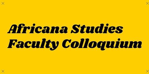 Faculty Colloquium: Danielle Clealand