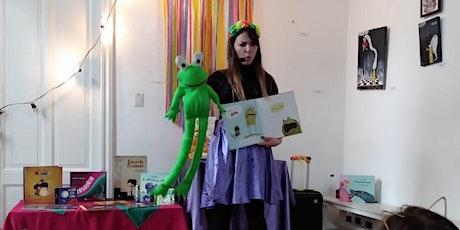 Ronda de cuentos infantiles con Nanu Spalj entradas