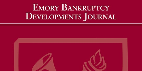 2020 Emory  Bankruptcy Developments Journal Banquet tickets
