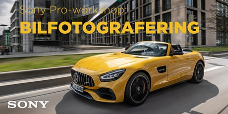 Sony Pro-workshop - Bilfotografering tickets