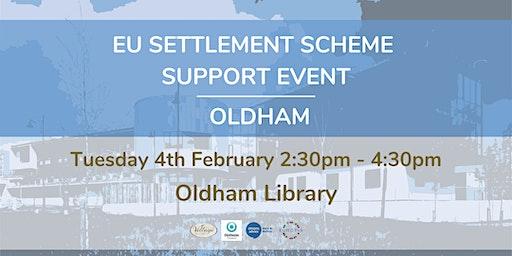 EU Settlement Scheme Support Event Oldham
