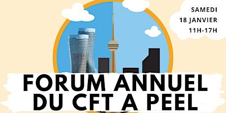 Forum annuel du Centre francophone du Grand Toronto dans la region de Peel. tickets