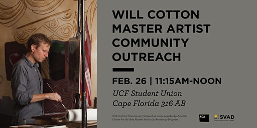 Will Cotton Master Artist Community Outreach