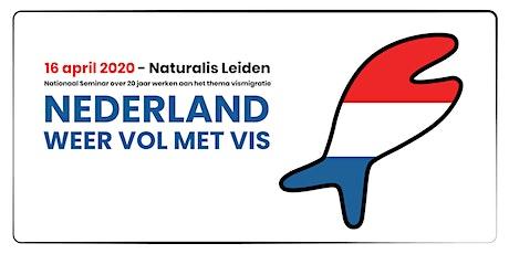 NEDERLAND WEER VOL MET VIS tickets