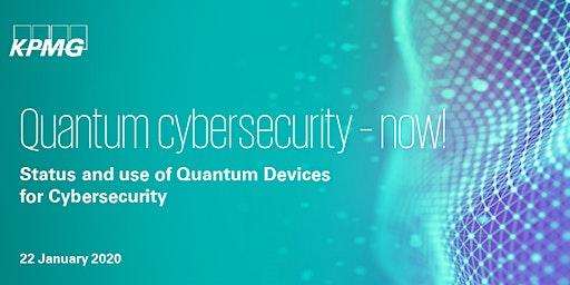 Quantum cybersecurity - now!