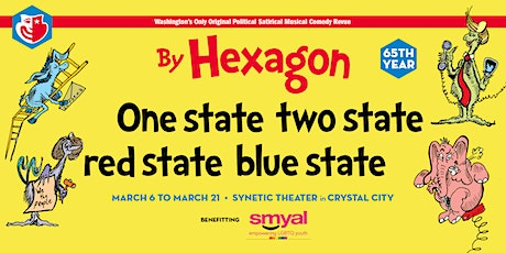 "Hexagon's 65th Annual Revue: ""One State, Two State, Red State, Blue State"" tickets"