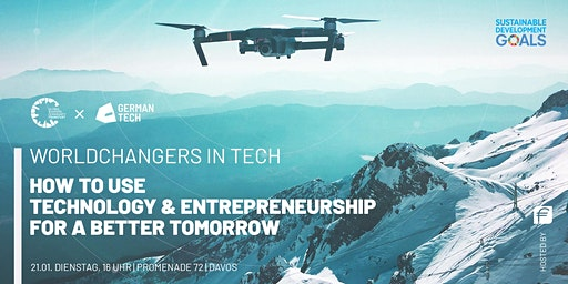 WORLDCHANGERS IN TECH - Technology & Entrepreneurship for a better tomorrow