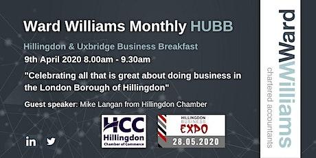 Ward Williams HUBB: Hillingdon & Uxbridge Business Breakfast. tickets