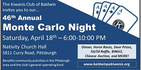 Monte Carlo Night tickets