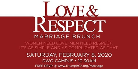 Triumph's Love & Respect Marriage Brunch tickets
