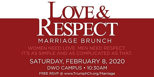 Triumph's Love & Respect Marriage Brunch