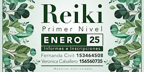 Iniciación en el Primer Nivel de Reiki entradas