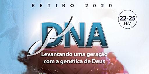 Retiro DNA 2020 - Faixa etária 13 anos acima