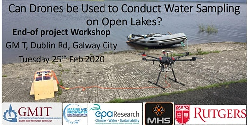 Can drones be used to conduct water sampling on open lakes?