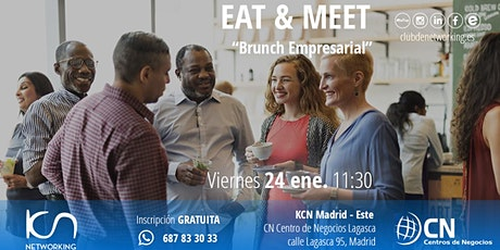 EAT & MEET: Brunch Empresarial entradas