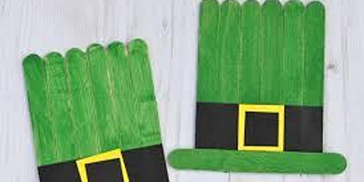 St Patrick's Day Crafts @ Hale End Library