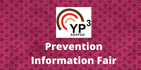 Prevention Information Fair - Agency Registration tickets