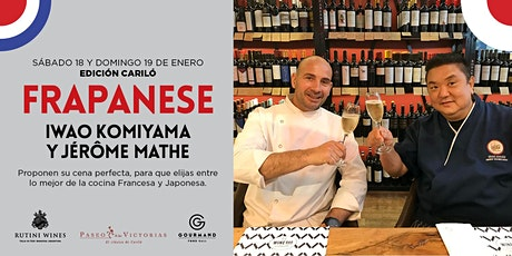 Cena especial con Iwao Koniyama y Jérôme Mathe entradas