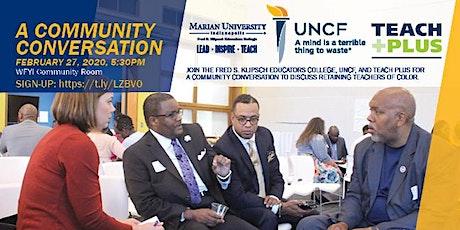 Community Conversation: Retaining Teachers of Color tickets