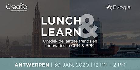 Lunch & Learn Antwerpen rond CRM,  BPM en Marketing Automation tickets