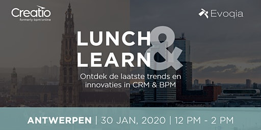 Lunch & Learn Antwerpen rond CRM,  BPM en Marketing Automation