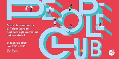 Vieni a conoscere People Club, la community per innovatori HR tickets