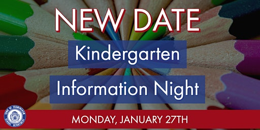 UPDATED- Kindergarten Information Night - Framingham Public Schools