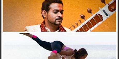 Dynamic Flow Yoga & Pranayama with Sitar : Maria Zosa & Kumar Karthigesu tickets