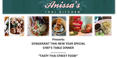 Chefs Table Dinner - Tasty Thai Street Food tickets