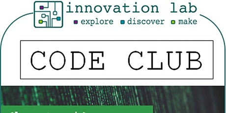 Coleford Library - Innovation Lab Code Club tickets