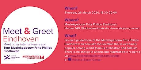 Meet & Greet @ Muziekgebouw Eindhoven: March 2020 tickets