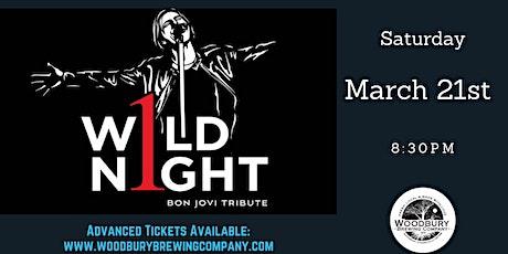 1 Wild Night: Bon Jovi Tribute at the Woodbury Brewing Company tickets