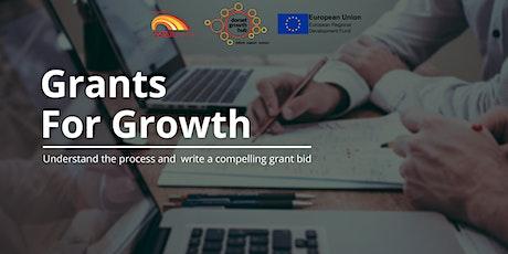Grants For Growth - Christchurch - Dorset Growth Hub tickets