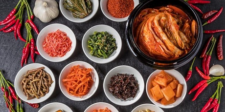 Korean plant-based cooking lunch club tickets
