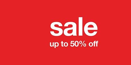 sale - up to 50% off tickets