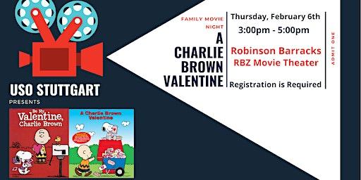 """Robinson Family Movie Night: """"A Charlie Brown Valentine"""""""