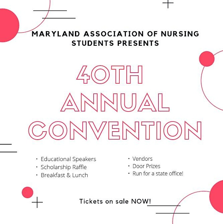 Maryland Association of Nursing Students Annual Convention image
