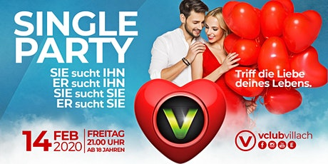 Valentinstag Single Party mit DJ Indygo Tickets