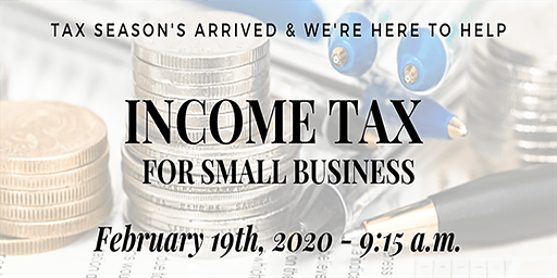 Income Tax for Small Business Seminar