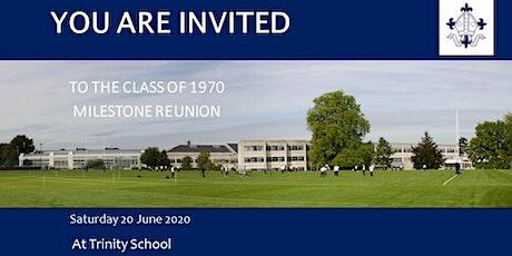 Trinity School's Class of 1970 Milestone Reunion tickets