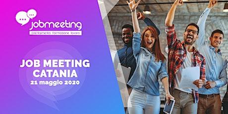 Job Meeting Catania: il 21 maggio incontra le aziende che assumono! biglietti