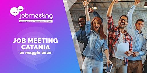 Job Meeting Catania: il 21 maggio incontra le aziende che assumono!