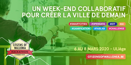 Hackathon Citizens of Wallonia 2020 billets