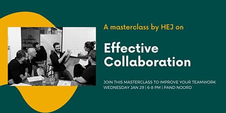 MASTERCLASS by HEJ I Effective Collaboration tickets