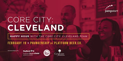 Happy Hour with the Core City: Cleveland Team