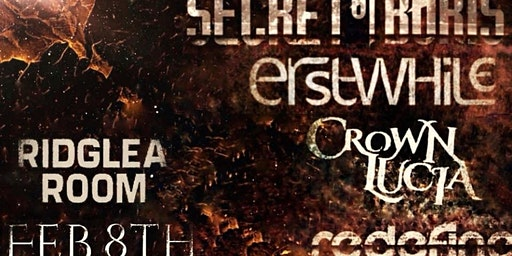 Secret of Boris / Erstwhile / Crown Lucia / Redefine at the Ridglea Room